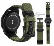 Classic Nylon Strap Accessories For Samsung Galaxy Gear S3 Watch Bands 20mm-22mm