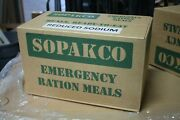 10 Cases Of 14 Sopakco Mre Emergency Ready To Eat 09/20 Inspect Date 140 Meals