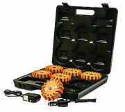 Buyers 8891018 Rechargeable Led Emergency Road Flare Magnetic Light Kit