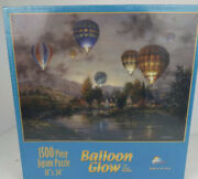 New Balloon Glow Jigsaw Puzzle 1500 Pc 33 X 24 Sealed 2000 Nicky Boehme Suns Out