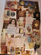 Lot Of Religious Books Pamphlets Holy Cards Bookmarks Catholic Church Spiritual