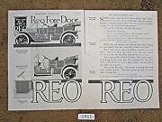 46 Original Reo Car Ads From1911-1931 For 175. See Individual Years W/ Photos
