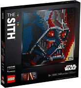 Lego 31200 Set Of 3 Lego Art Star Wars The Sith Vader Ren Maul Mib In Hand