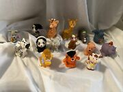 Fisher Price Little People Animals Lot 15 Pieces Farm Zoo Replacement Lion Seal