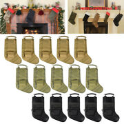 15pcs Tactical Molle Magazine Pouches Christmas Stocking Storage Bags Sock Sack