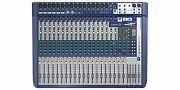 Soundcraft Signature 22 Small Format 22 Input Audio Mixer Ghost Mic Preamps