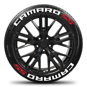 Camaro Ss Permanent Tire Lettering Stickers 14-24 Decal Letters 1.25
