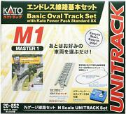 Kato N Scale Unitrack M1 Basic Oval Track Set 20-852 From Japan New F/s