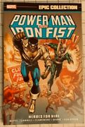 Marvel Comics Epic Collection Tpb Power Man And Iron Fist Heroes For Hire