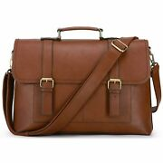 Ecosusi Briefcase Document Wallet For Bag Mens Of Leather Briefcase For Computer