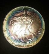 1996 American Silver Eagle Ase Silver | Key Date | Target Toning Rc13114