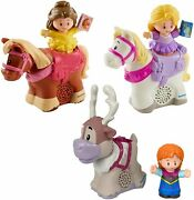 Little People Fisher Price Disney Princess And Horse Bundle- Belle And...