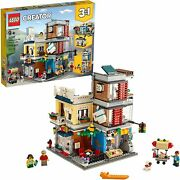 Lego Creator 3-in-1 Townhouse Pet Shop And Café 31097 Toy Store Building Set...