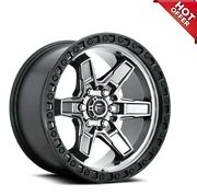 20 Fuel Wheels D698 Kicker 6 Anthracite Center W Black Lip Off Roads45