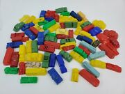 Huge Lot 80+ Plastic Mini Toy Cars Buses Trucks Nash Vw Oldsmobile Willys And More
