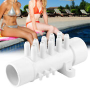10 Port Plumbing Manifold High Temperature Resistant With 6 Plugs Corrosion