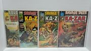 Savage Tales Featuring Ka-zar Magazine 7-9, And 11, Curtis