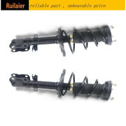 Fits 2012 2013 14 15 2017 Toyota Camry Rear Pair Complete Strut And Coil Assembly