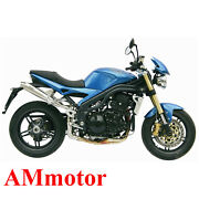 Mivv Triumph Speed Triple 2006 06 Exhaust X-cone Motorcycle High