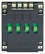 Atlas Electrical Track Power Selector With Four Sp/dt Switches Ho/n Scale