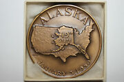 The Seal Of The State Of Alaska The 49th State Medal Num5405