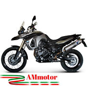 Bmw F 800 Gs / Adventure 2010 10 Exhaust Termignoni Motocycle Muffler Oval Inox