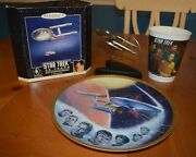 Classic Star Trek Vintage 25th And 30th Collection - Plate Ornament 7-11 Cup