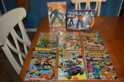 Magnificent 7 Key Issues Fantastic Four Comic Books And Exclusive Action Figures