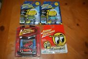 Collection Of 3 Die-cast Volkswagen Beetle Johnny Lightningand039s L.e. + Free Gift