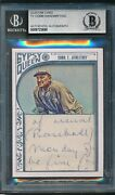 2015 Topps Gypsy Queen Framed White Cut Signature 17 Ty Cobb Auto Bgs
