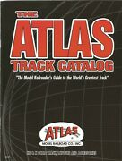 2003 Atlas Model Railroad All Scales Ho N And O Catalog Layouts And Accessories