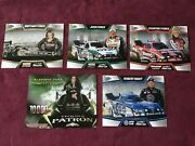 Nhra Racing Photo Cards Alexis Dejoria Brittany John And Courtney Force 2013