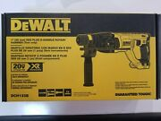 Dewalt Dch133b 20v 1and039and039 Sds Plus D-handle Brushless Rotary Hammer Tool Only Nip