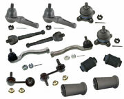 Ball Joints Tie Rods Sway Bar Link Arm Bushing For Mitsubishi Montero Front Kit