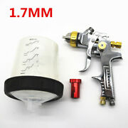 Air Spray Gun Hvlp 1.7mm Auto Car Detail Touch Up Paint Sprayer Spot Repair