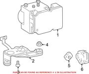 Genuine Oem Abs Hydraulic Assembly For Toyota 440500c310