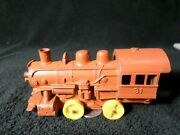 Vintage Hubley Red Train Locomotive Made In Usa