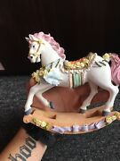 Vintage Ceramic Horse Figurine - Collectible-free Shipping-