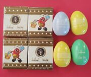 2020 Trump White House Wooden Easter Eggs And Jelly Belly Beans Lot 4 Each