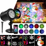 Led Projector Lights Christmas Party Landscape Waterproof Outdoor Decorations