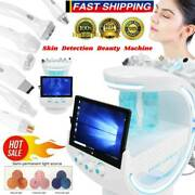 Small Bubble Beauty Machine+skin Detection+face Scrubber Anti Aging Instrument