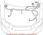 Genuine Oem Engine Wiring Harness For Toyota 821110e560