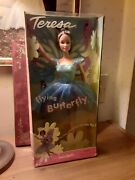 Barbie Teresa 2000 Collection Flying Butterfly Vintage Doll Fly Complete New Box