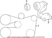 Genuine Oem Accessory Drive Belt Tensioner Assembly For Lexus 1662031021
