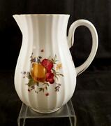 Royal Worcester China Delecta Water Pitchervrarewarmstry Ribbed Stylemarked