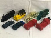 8 Vintage Collectible Avon Glass Aftershave Bottles Motorcycle Cars +6 Stillfull