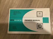 1974 Buick Owners Manual. Century, Regal,  Very Nice. No Reserve