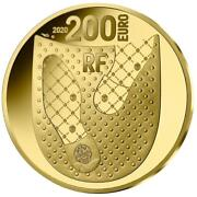 Frankreich 200 Euro 2020 - French Excellence - 125 Jahre Berluti - 1 Oz Gold Pp