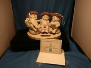 Dreamsicles The Flying Lesson Collector's Edition 1993 Angels Figurine Paper