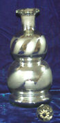 Wonderful Mercury Glass Decanter With Stopper - Art Deco